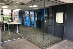 Chrome-Z-wall-office-enclosure-Kansas-City-MO